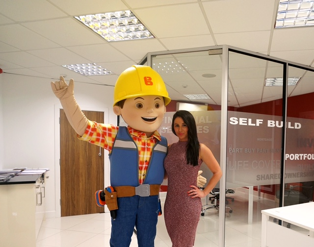 Bob the Builder and Kelly December 2015
